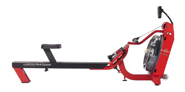 fdf s6 laguna - fluid rower - steel and aluminum frame