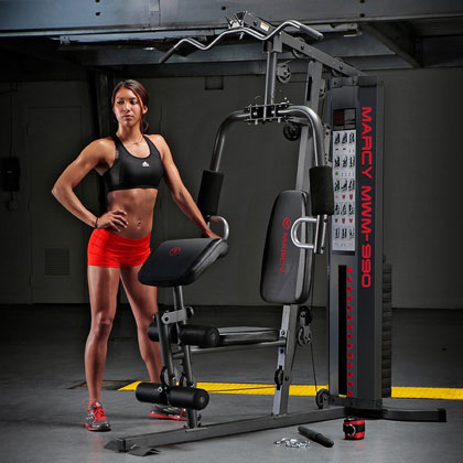 mwm-990 home gym - marcy fitness