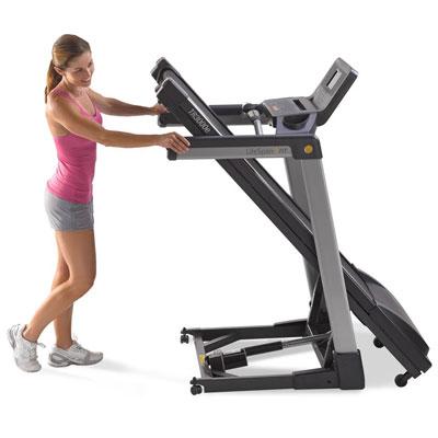 lifespan tr3000e electric treadmill - folding frame