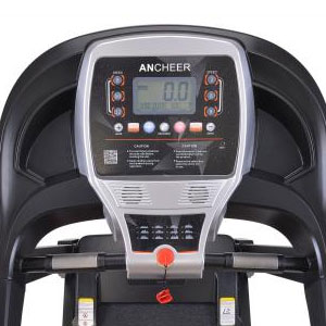 ancheer electric folding treadmill - console