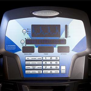 endurance t100 - console