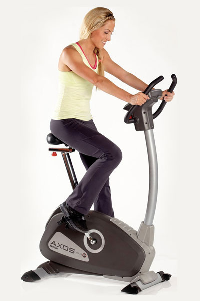 kettler axos p cycle - upright exercise bike