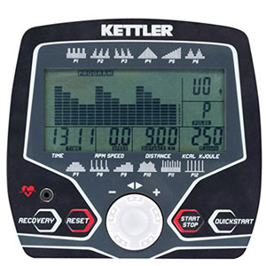 kettler axos cycle p - programmable console