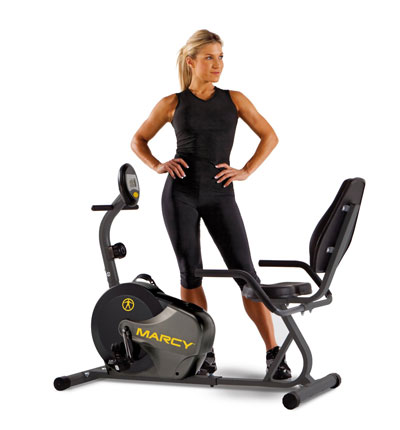 marcy ns-716r - magnetic recumbent bike