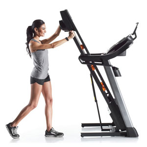 folding treadmill - nordictrack c 1650