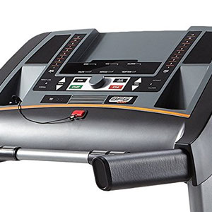 afg sport 5.5at treadmill - console