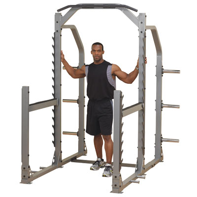 body-solid clubline power rack - model smr1000