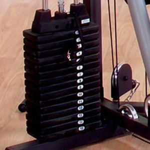 body-solid g1s - weight stack pic