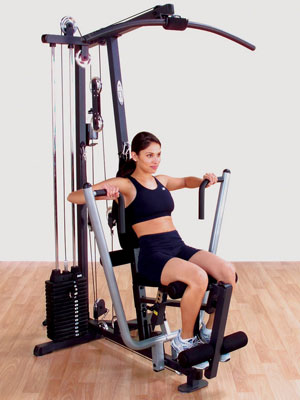 body-solid g1s - selectorized weight stack home gym