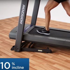 horizon t101 - 10% incline