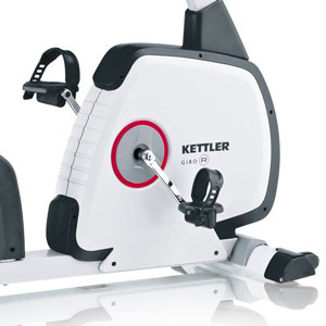 kettler giro r recumbent bike - with automatic magnetic resistance