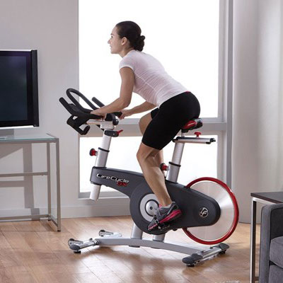 life fitness exercise bike - lifecycle gx model