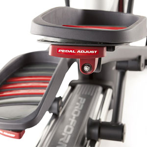 proform 1110 e - adjustable pedals