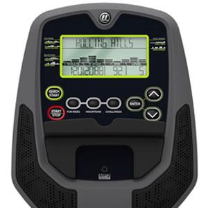 universal u10 exercise bike - console