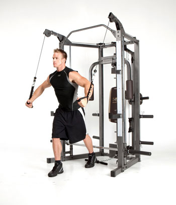 marcy sm-4008 combo smith machine - with cross-over station