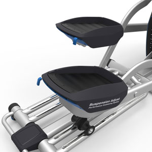 nautilus e618 - adjustable and cushioned pedals