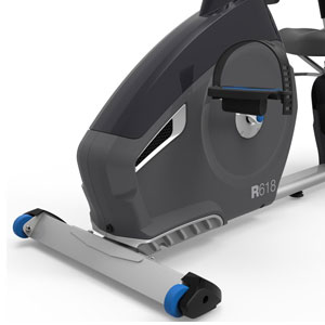 nautilus r618 recumbent bike - eddy current resistance