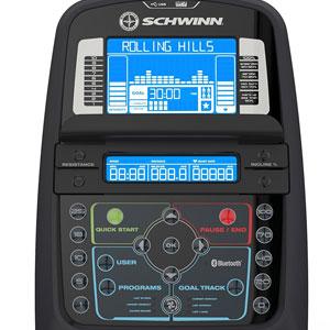 schwinn 470 2017 - bluetooth console
