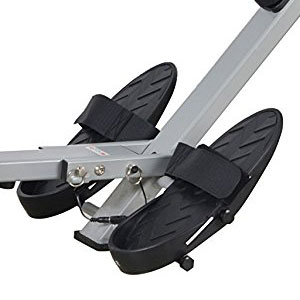 sunny health and fitness sf-rw5633 - footrests with straps