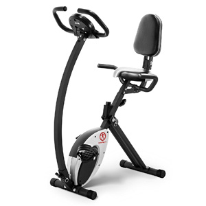 Marcy Foldable Recumbent Exercise Bike NS-653