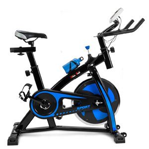 XtremepowerUS Indoor Cycle Trainer Blue Black