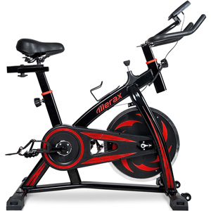 Merax Indoor Cycling Bike Red1