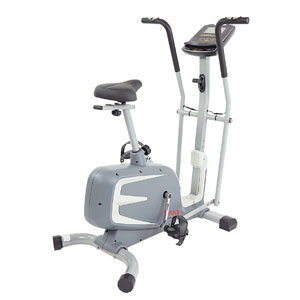 Sunny Health & Fitness Cross Training Magnetic Upright Bike SF-B2630