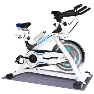 URSTAR Ultra-Silence Crystal Indoor Cycling Bike