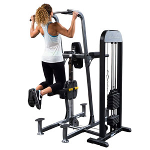 Body-Solid FCD-STK Weight Assisted Chin Dip Machine
