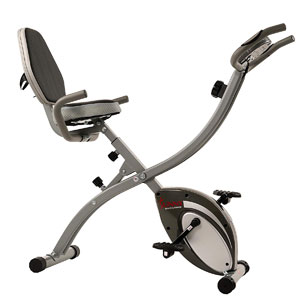 Sunny Health & Fitness Comfort XL SF-B2721 Semi-Recumbent Bike