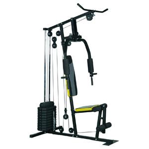 Soozier Indoor Adjustable Durable 100 lb Stack Home Gym