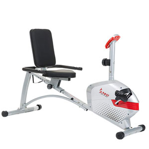 Sunny Health & Fitness SF-RB4417 Recumbent Bike
