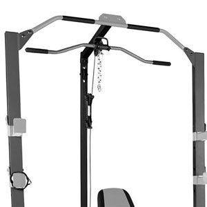 Marcy Pro Deluxe Cage System with Weight Lifting Bench PM