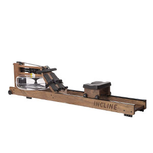 Incline Fit Walnut Water Rowing Machine