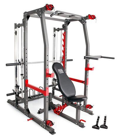 Weider flex gym 2000 exercises