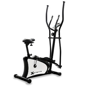 XTERRA Fitness EU100 Hybrid Elliptical Upright Bike
