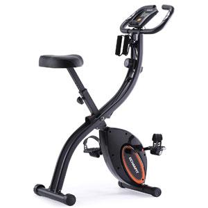 ECHANFIT Folding Upright Exercise Bike 2901
