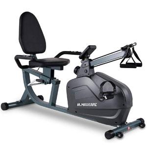 MaxKare 2-in-1 Multifunction Recumbent Exercise Bike