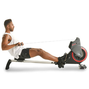 Fitness Reality Dual Transmission Fan Rower 2646