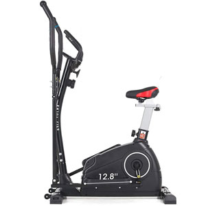 ER KANG 2-in-1 Elliptical & Upright Bike