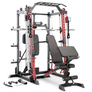 Marcy Smith Machine SM-4033 with Bench
